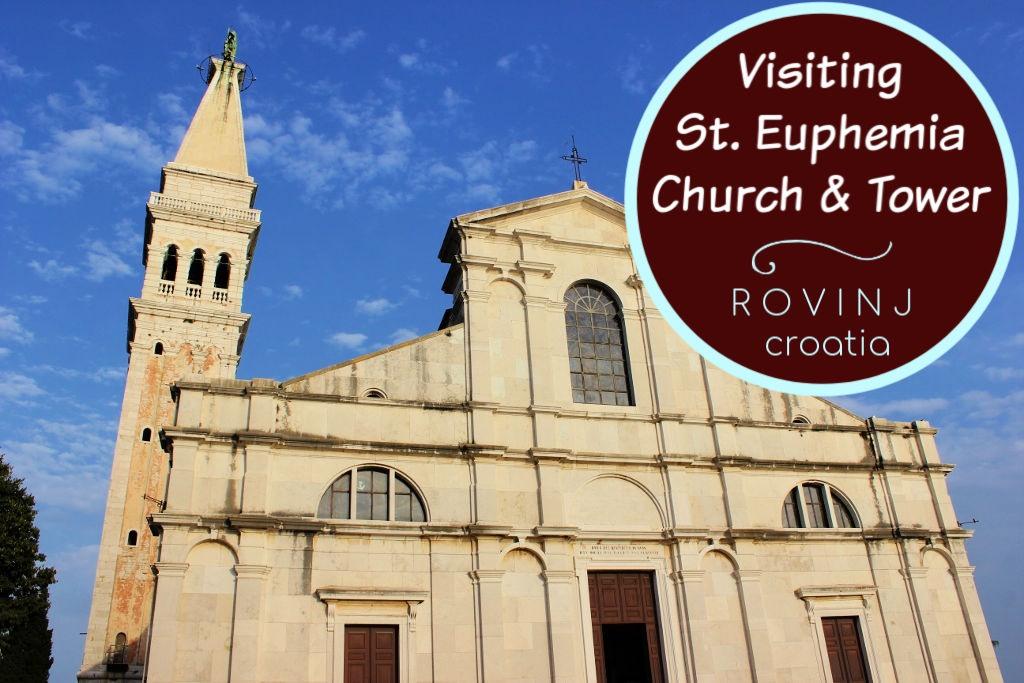 Visiting St. Euphemia Church and Bell Tower in Rovinj, Croatia by JetSettingFools.com