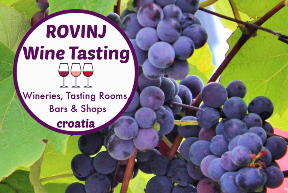 Wine Tasting in Rovinj, Croatia: Wineries, Tasting Rooms, Bars and Shops by JetSettingFools.com