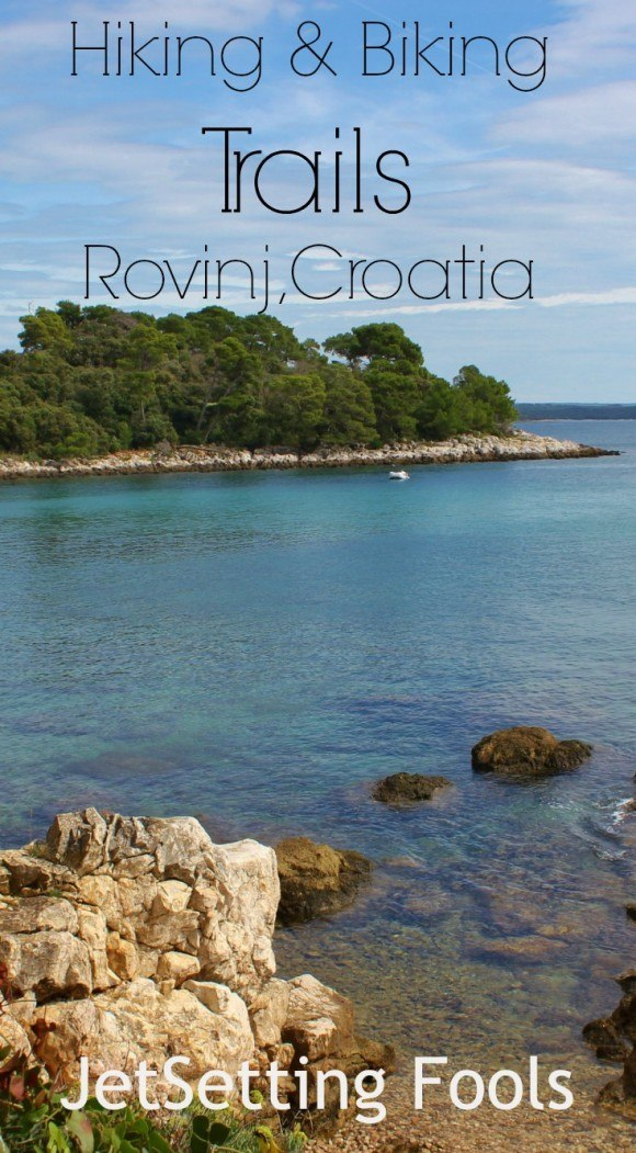 hiking and biking trails in Rovinj Croatia JetSetting Fools