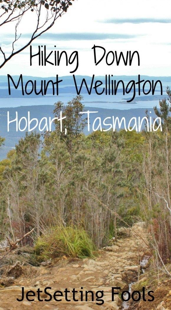 hiking down Mount Wellington Hobart Tasmania JetSetting Fools