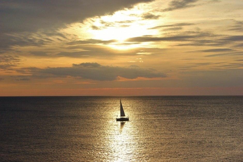 We witnessed many beautiful sunsets in Rovinj, Croatia