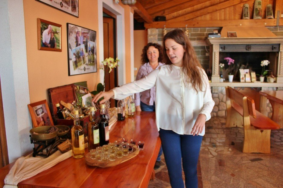 Mother and daughter of the Karlic Tartufi family business explained the history of truffles