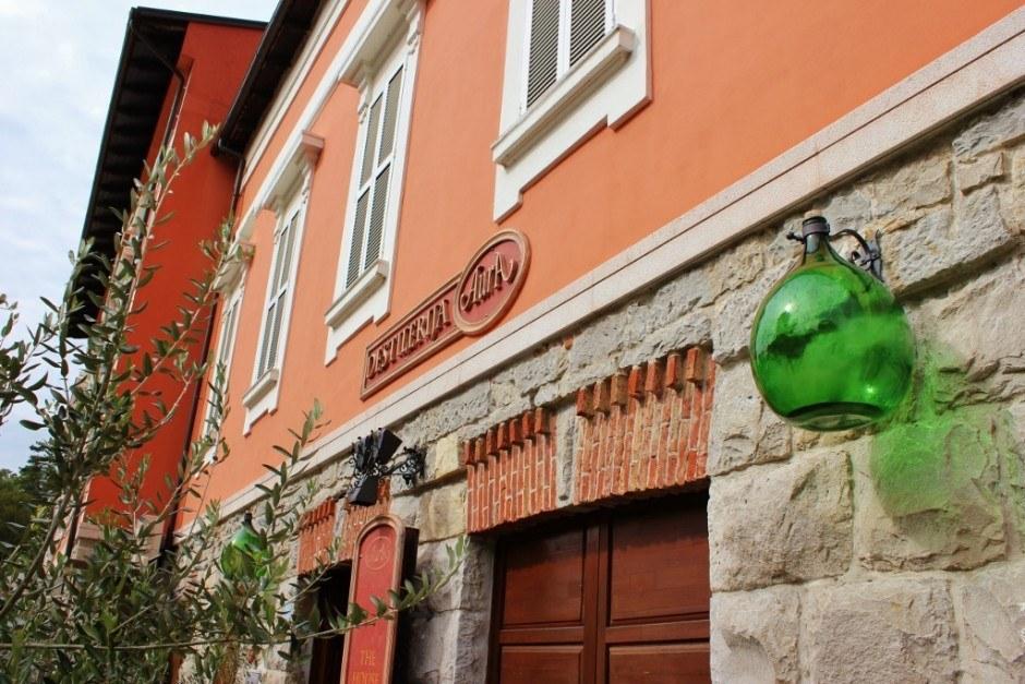 The Aura Distillery, makers of Istrian brandy
