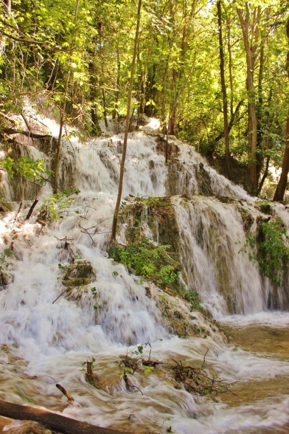 There were waterfalls in every direction we looked while visiting Krka National Park
