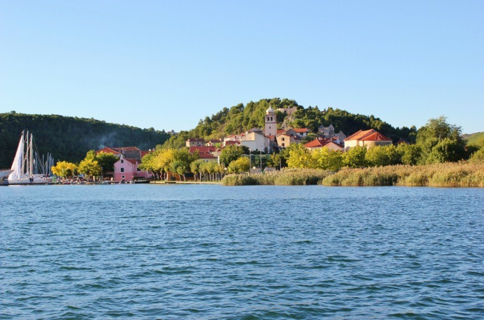 Skradin, Croatia: an entry point to Krka National Park, but worth the time to look around the town