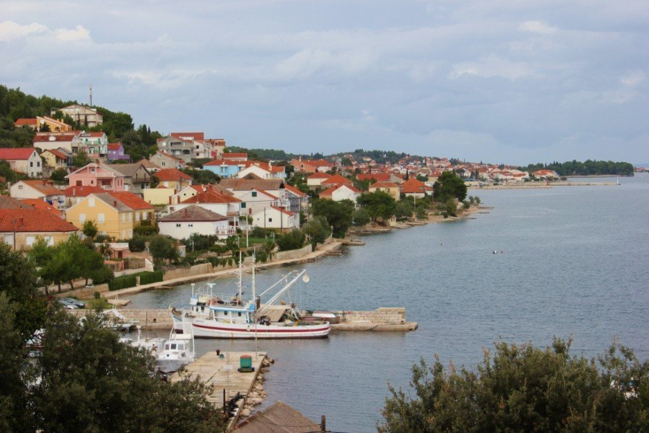 We took a boat trip from Zadar to Ugljan and visited the town of Kali