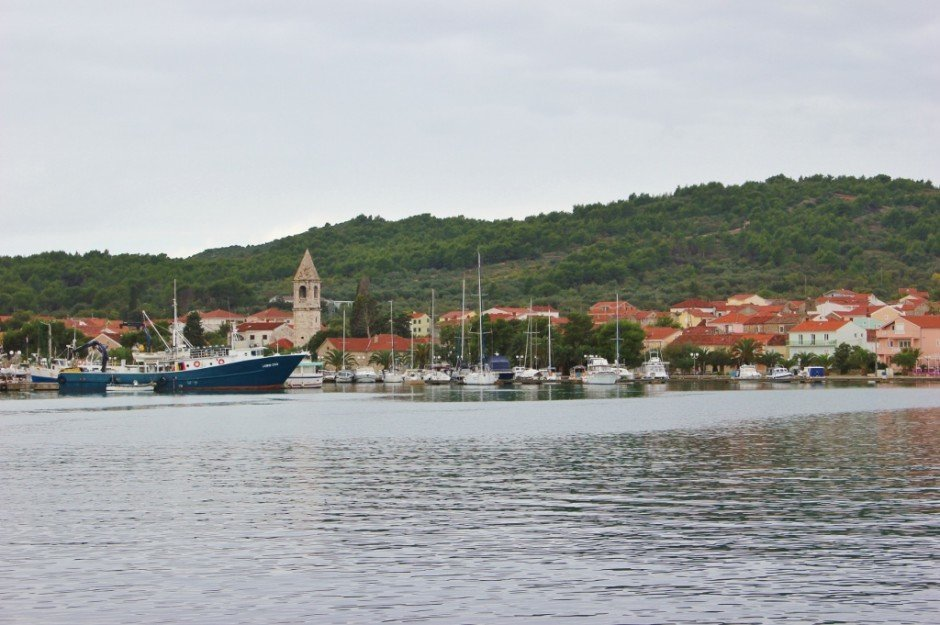 We took a boat trip from Zadar to Ugljan and visited Kukljica