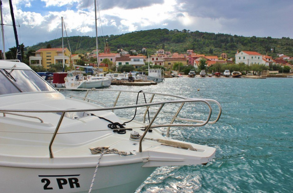 A boat trip from Zadar to Preko, Ugljan