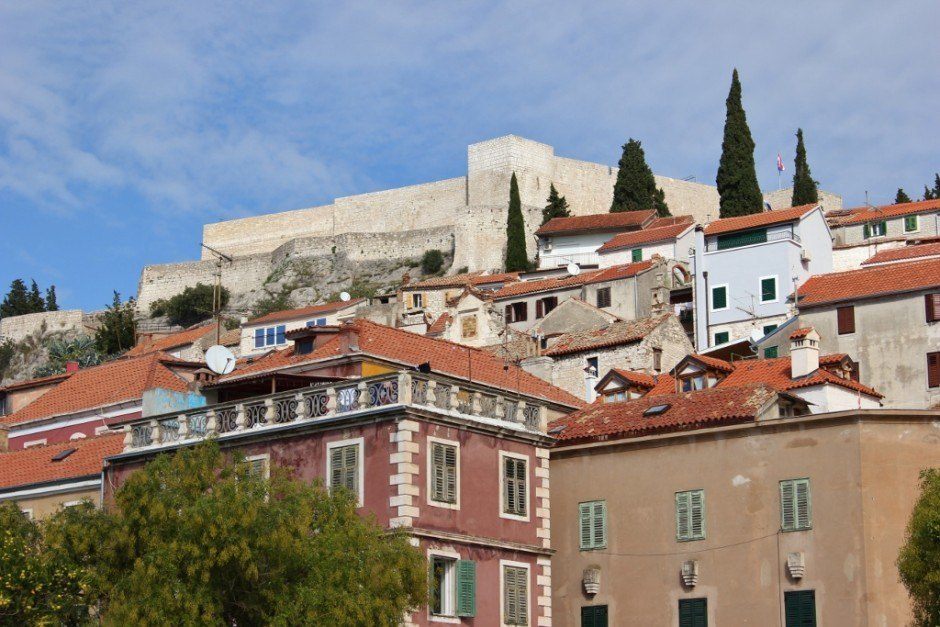 St. Michael's Fort can be visited during a day trip to Sibenik, Croatia