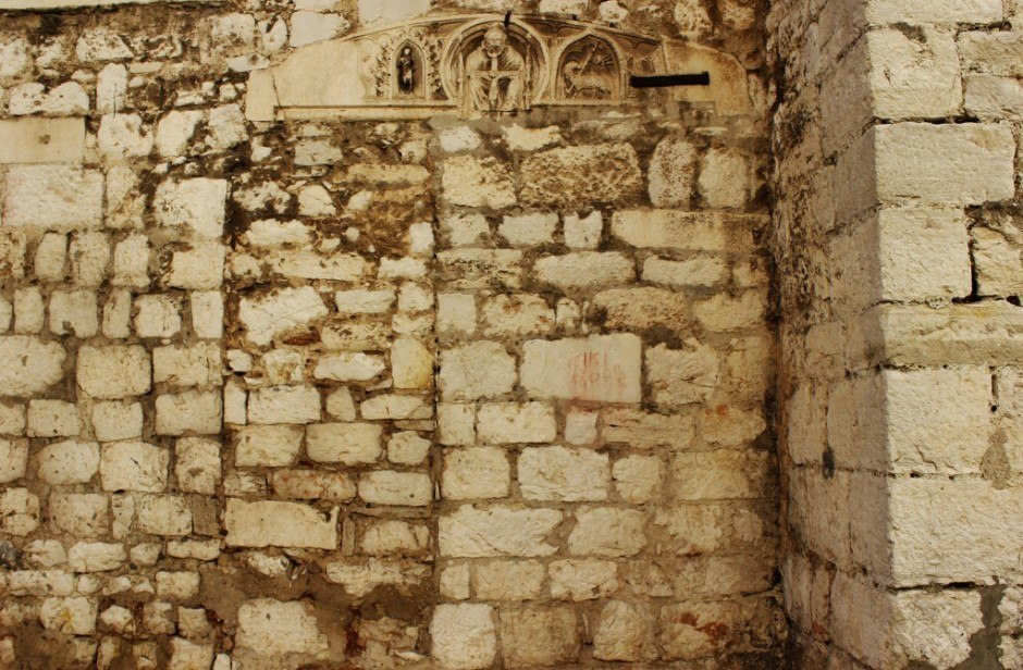 Throughout the old town in Sibenik, we found remains of the past