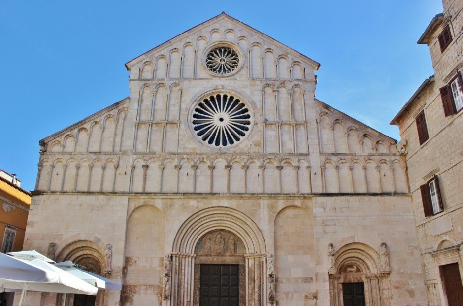 St. Anastasia's Cathedral in Zadar, Croatia