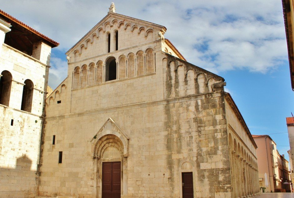 Crkva Sv. Kresevana (St. Chrysogonus Church) in Zadar, Croatia