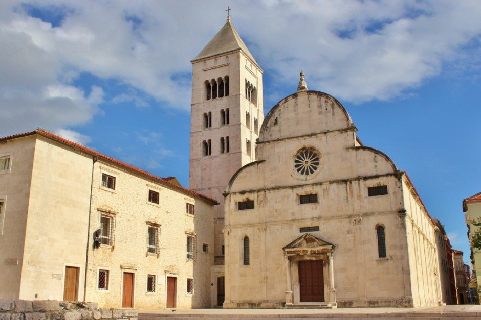 St. Mary's Church in Zadar, Croatia