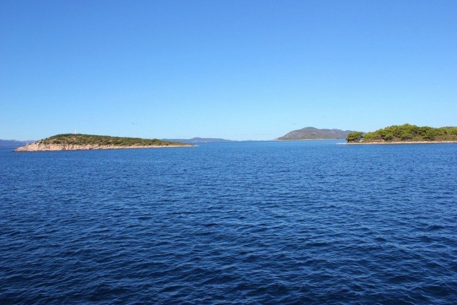 We passed several small islands of northern Dalmatia during our boat trip from Zadar to Dugi Otok