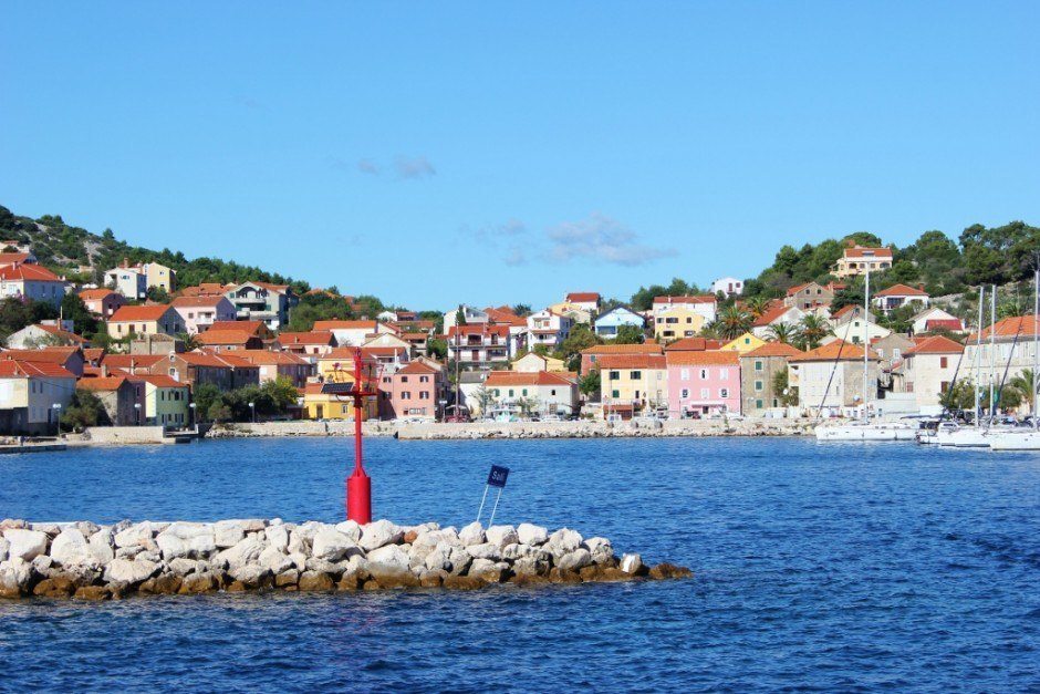 A stop at Sali during our boat trip from Zadar to Dugi Otok