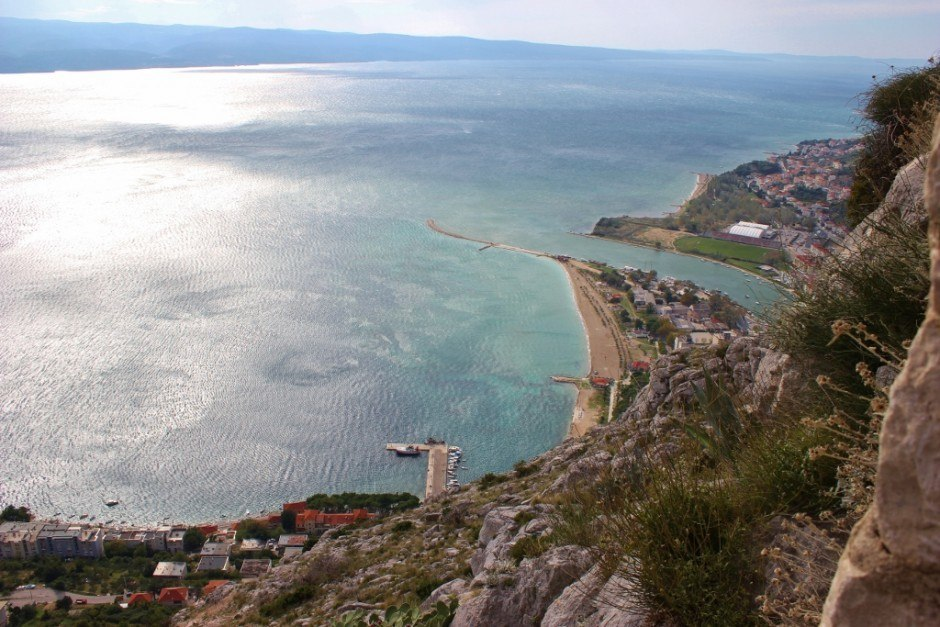 The views are the reward for hiking to Starigrad Fortress in Omis