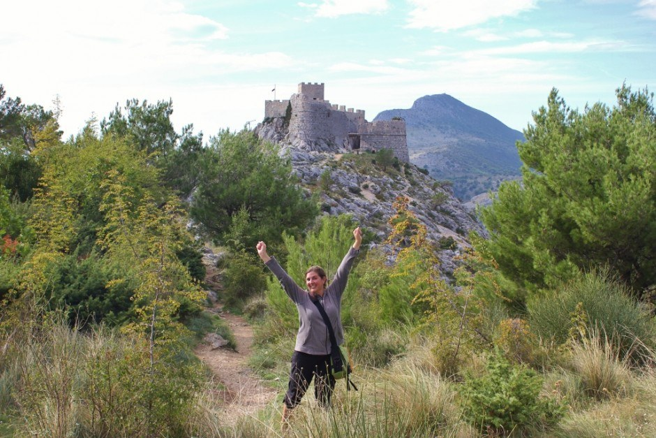 We were triumphant in hiking to Starigrad Fortress in Omis