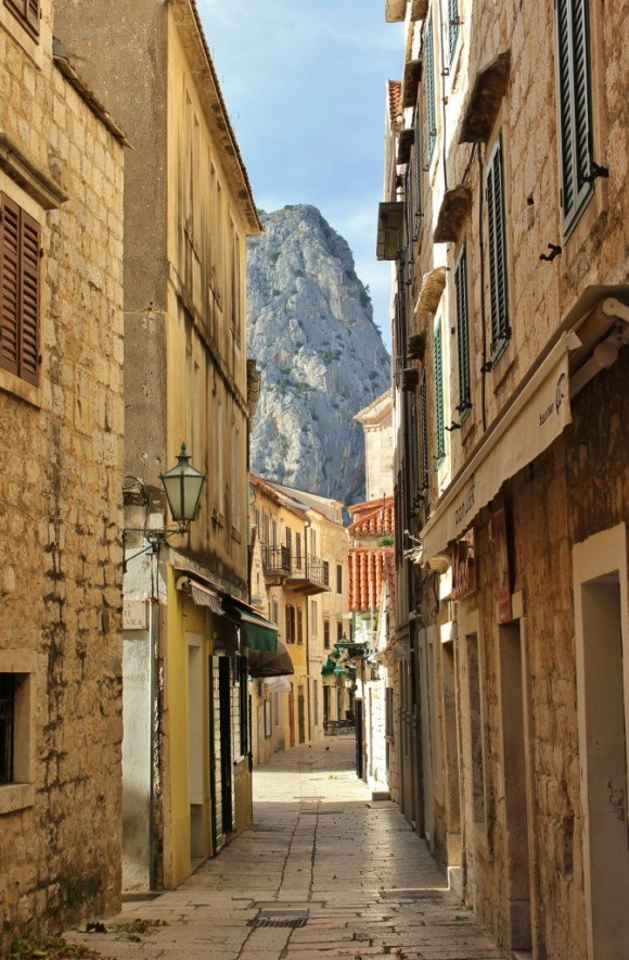 We walked the narrow streets of the old town before hiking to Starigrad Fortress in Omis