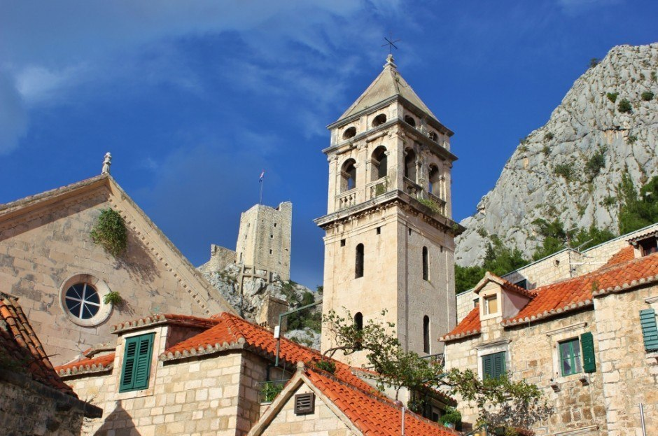 We walked through the town before hiking to Starigrad Fortress in Omis