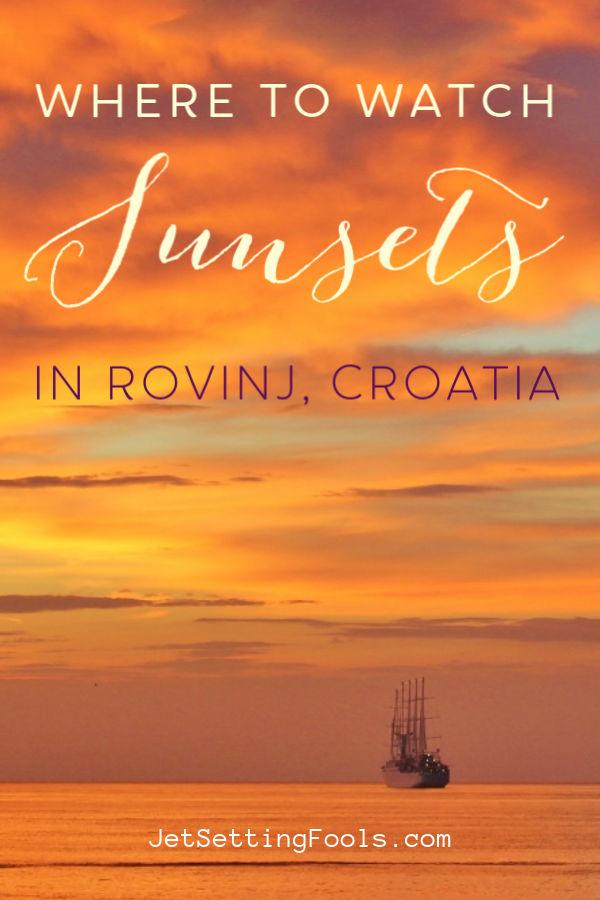 Rovinj Croatia Sunsets by JetSettingFools.com