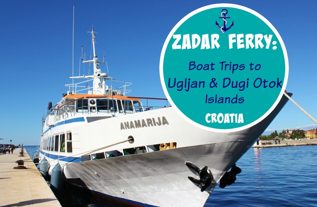 Zadar Ferry Boat Trips to Ugljan and Dugi Otok Islands Croatia by JetSettingFools.com