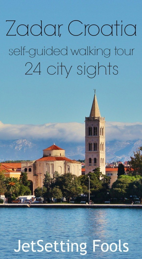 Zadar self-guided walking tour Croatia JetSetting Fools