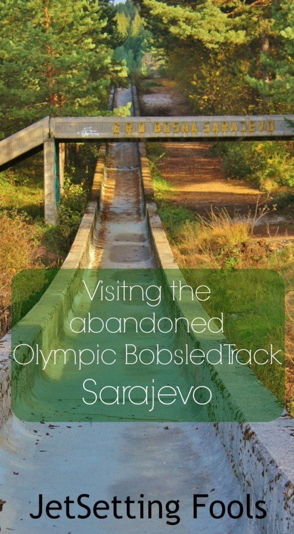 visiting the Abandoned Olympic Bobsled Track Sarajevo Jetsetting Fools
