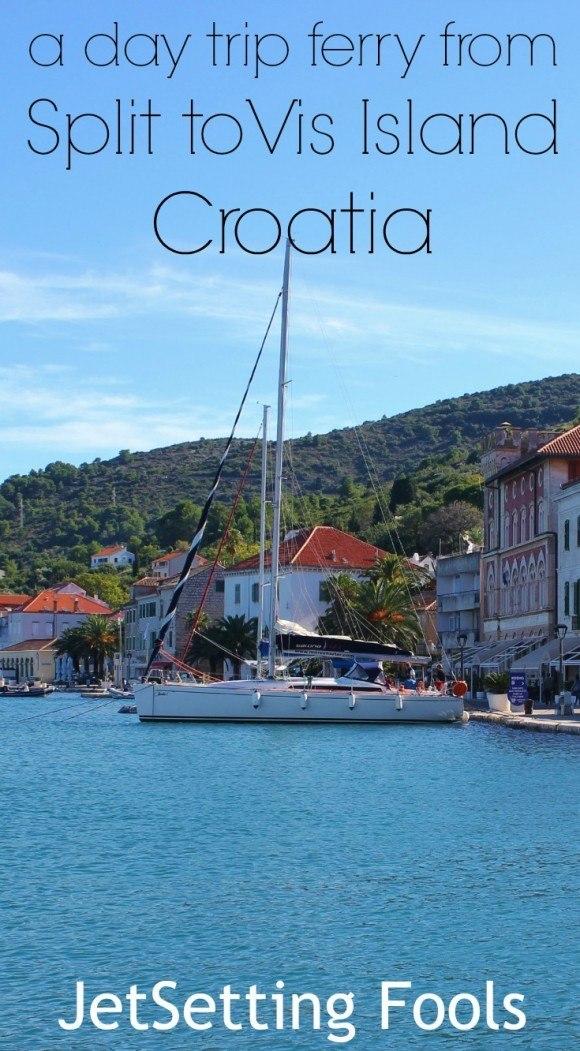Day trip Ferry from Split to Vis Island Croatia JetSetting Fools