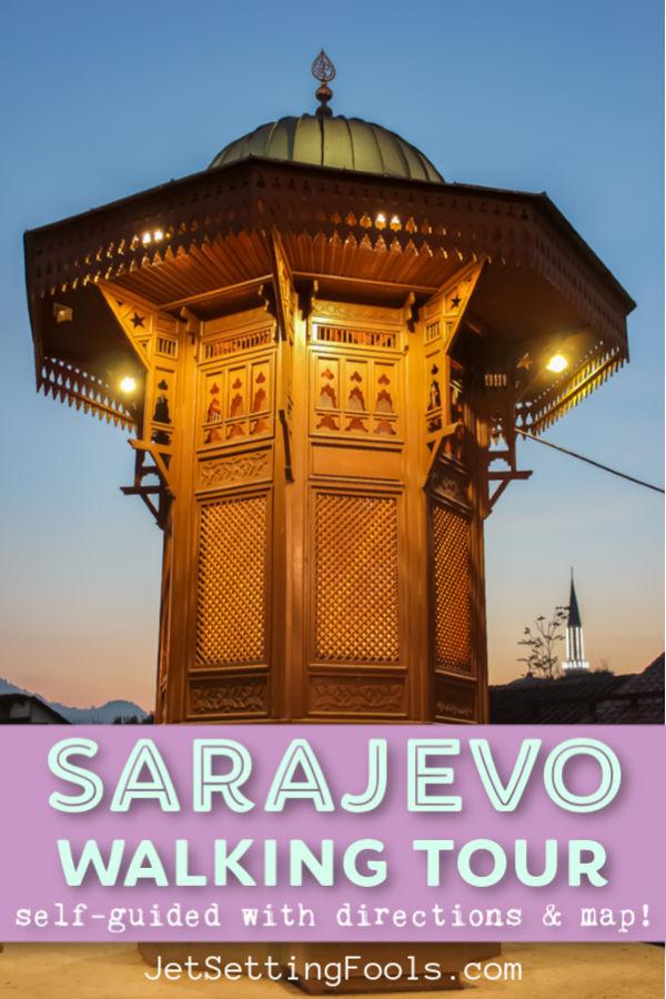 Free Walking Tour Sarajevo BIH by JetSettingFools.com