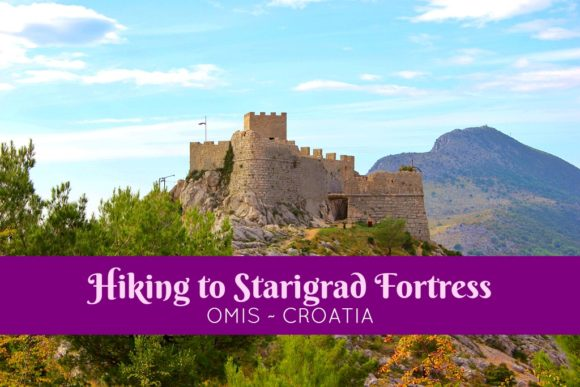 Hiking to Starigrad Fortress in Omis, Croatia by JetSettingFools.com