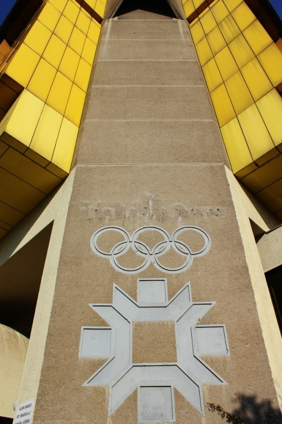 The Holiday Inn in Sarajevo was built for the 1984 Winter Olympics, but it no longer bears the hotel chain's name.