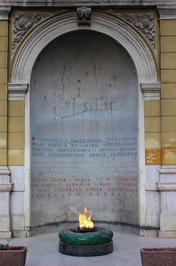 Eternal Flame in Sarajevo, BIH