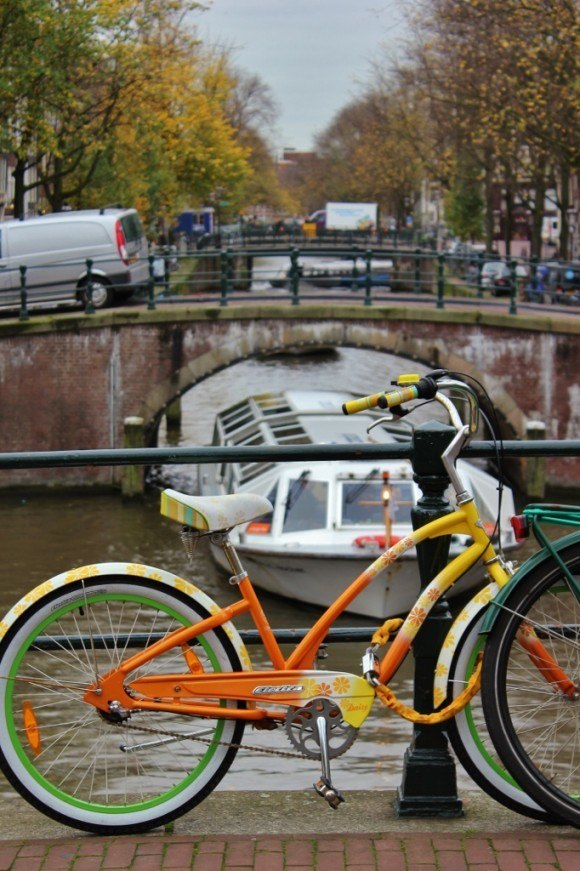 Amsterdam first impressions: Congested canals