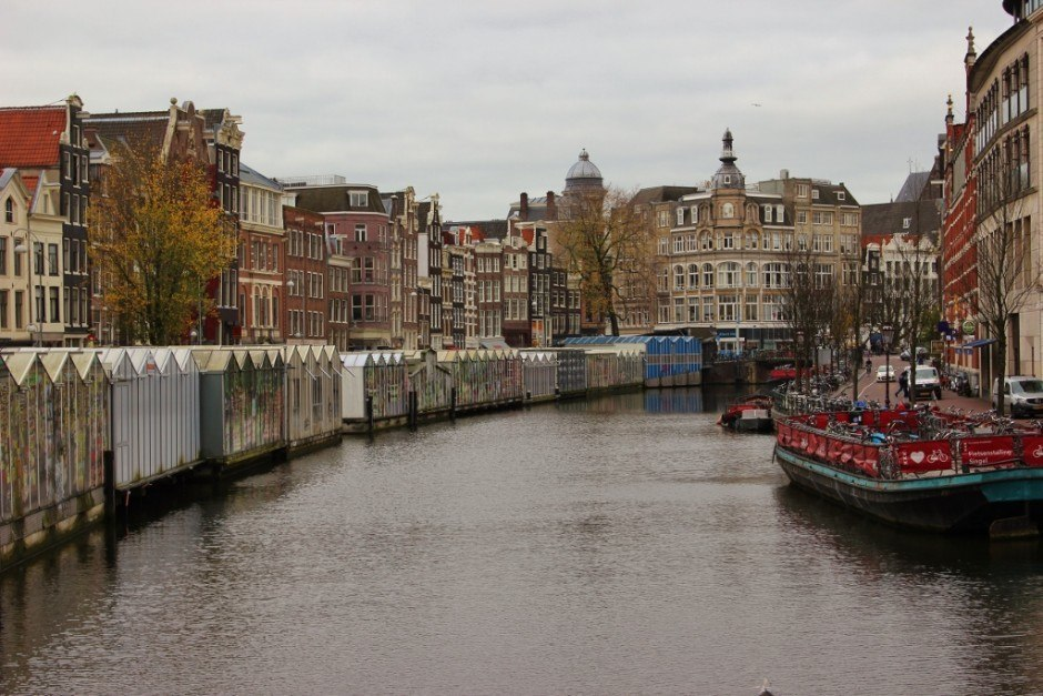 One day in Amsterdam self-guided walking tour - sight 12: Shop the floating flower market