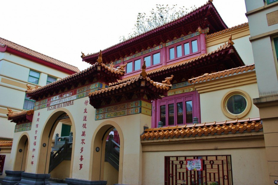 One day in Amsterdam self-guided walking tour - sight 7: the He Hua Temple in Chinatown