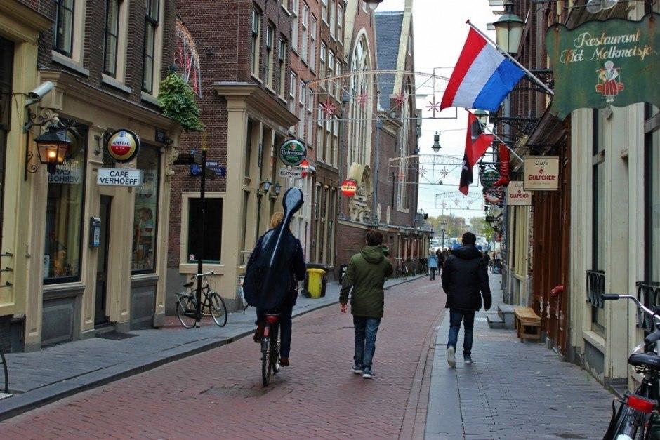 Amsterdam first impressions: bikes everywhere