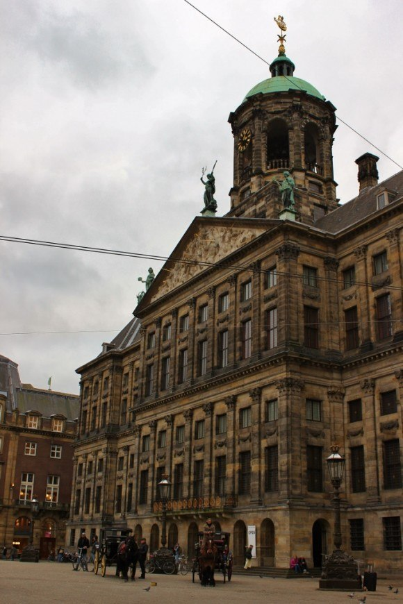 One day in Amsterdam self-guided walking tour - sight 4: the Royal Palace on Dam Square