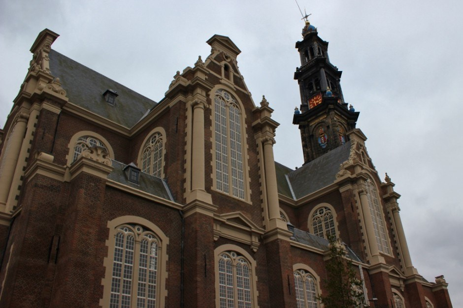One day in Amsterdam self-guided walking tour - sight 13: Westerkerk