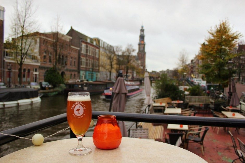 Amsterdam first impressions: beer