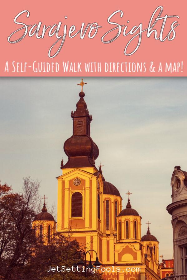 Sarajevo Sights Free Walking Tour by JetSettingFools.com