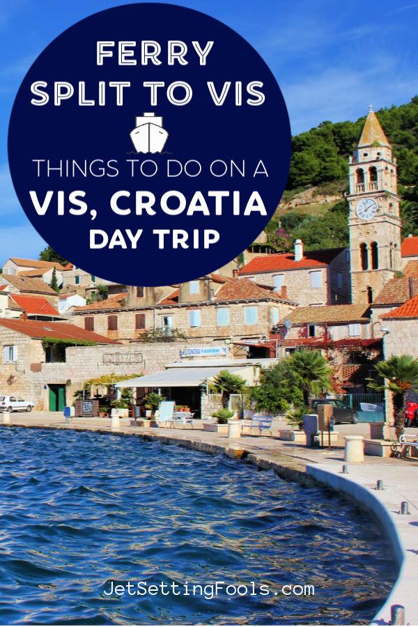 Split to Vis Ferry on a Vis Day Trip in Croatia