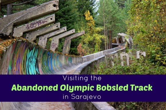 Visiting the Abandoned Olympic Bobsled Track in Sarajevo by JetSettingFools