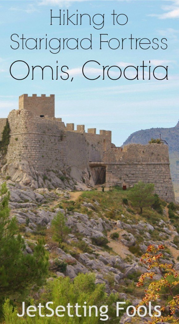 hiking to Starigrad Fortress in Omis Croatia JetSetting Fools