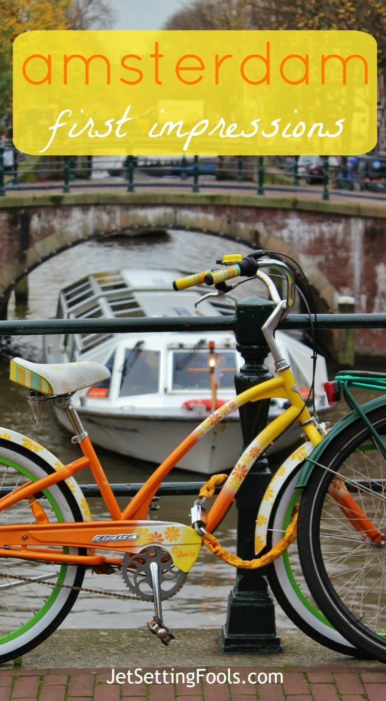 Amsterdam First Impressions pin JetSetting Fools