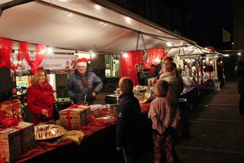 Christmas Markets near Nijmegen Netherlands Beek Kerstmarkt booth