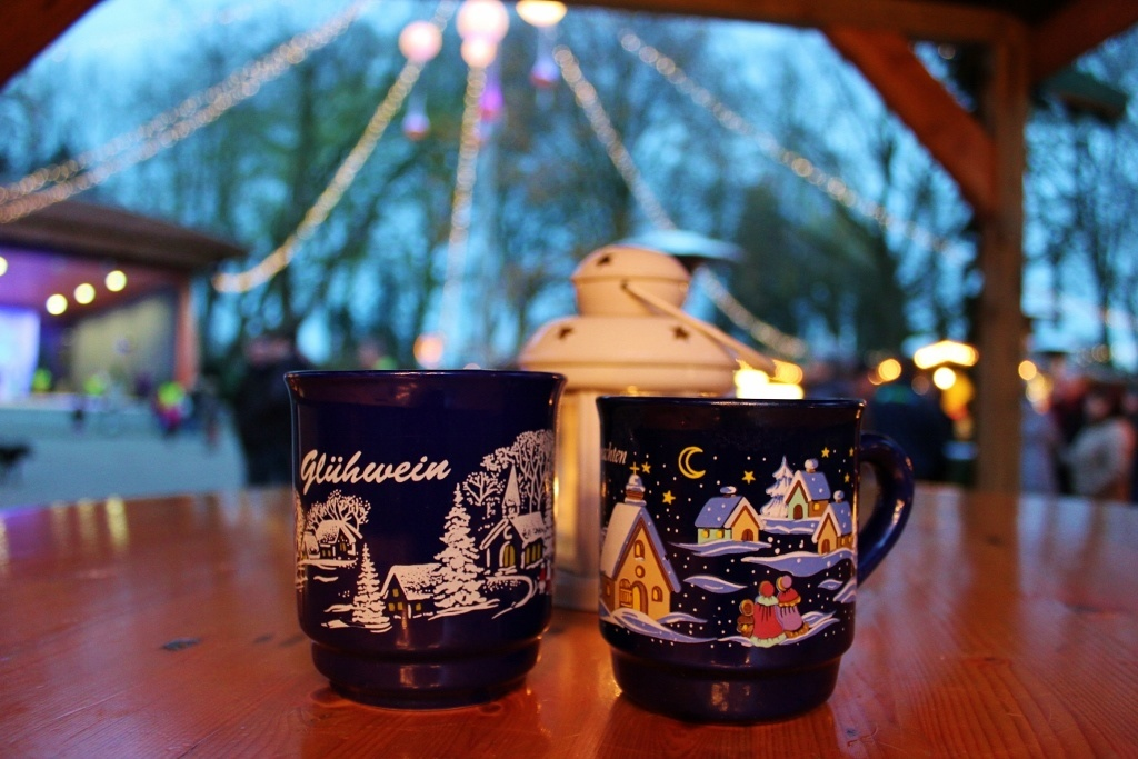 Christmas Markets near Nijmegen Netherlands Gluhwein