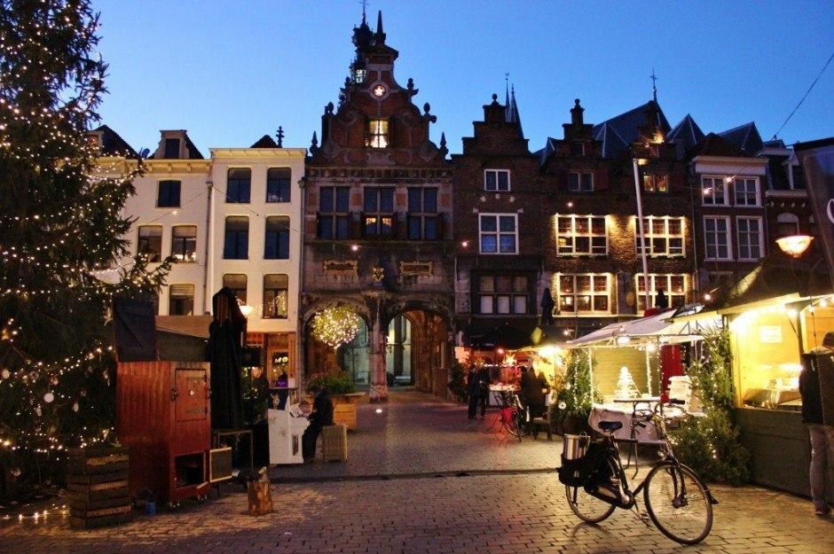 Christmas Markets near Nijmegen Netherlands Nijmegen Grote Markt