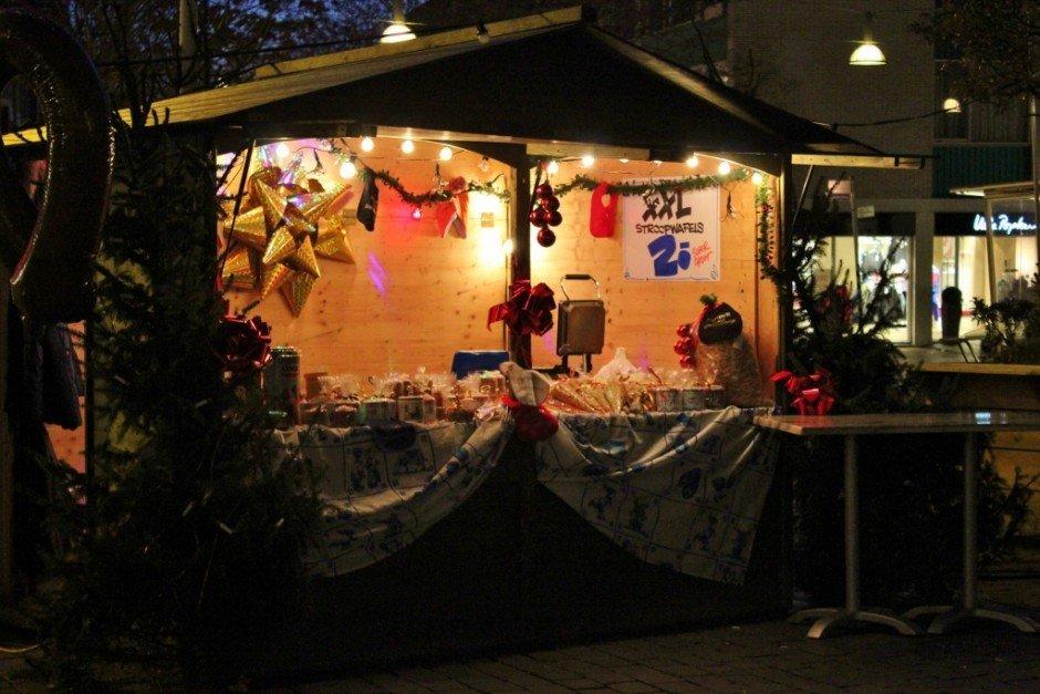 Christmas Markets near Nijmegen Netherlands Nijmegen Grote Markt Stroomwafels