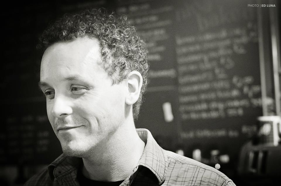 Inspired by a cafe owner: Mike Heslop
