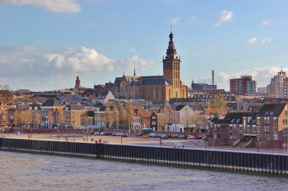 Nijmegen, Netherlands River View